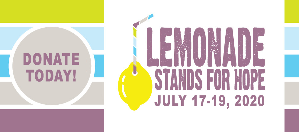 Lemonade Stands for Hope TR banner _ DONATE TODAY